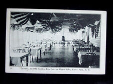 1923 Dining Room Golden Rule Inn Mirror Lk Ulster Park NY postcard Ulster County