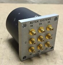 Autek Systems Type 32 9-Port Radio Frequency Coaxial Switch Module DIP