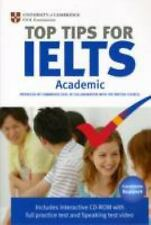 Top Tips for IELTS Academic by Cambridge Esol (2009, CD-ROM / Paperback)
