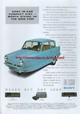 Sony In Car Hi-Fi 1988 Magazine Advert #3965