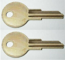 (2) Snug Truck Cap Toppers Camper Replacement Keys Pre-Cut To Key Code PRM13