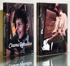 Cinema Paradiso (1988) [Blu-ray], (2-DISC +BOOKELT) Full Slip SET~Director's Cut