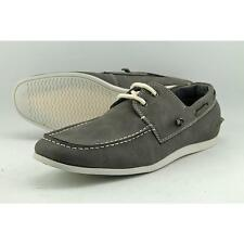 Madden Men Game On Men US 12 Gray Boat Shoe Blemish  13574