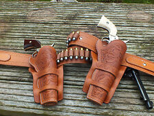 Cheyenne Holster Double Gun Rig, For Colt SAA with 5.5inch barrel