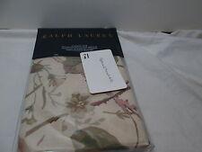 Ralph Lauren ARCHIVAL Collection WILTON ROSE FLORAL Standard Sham ~ Olive, Mauve