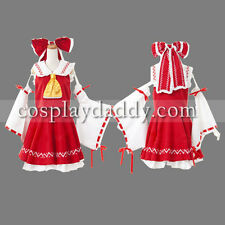 Touhou Project Reimu Hakurei Cosplay Costume full set