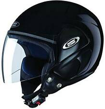 Studds Cub Open Face Helmet (Black, L)