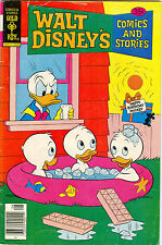 Walt Disney's Comics and Stories #455, August 1978, Gold Key Comics 35¢ cover