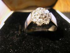 Stunning Vintage Solid Platinum & 0.60ct Diamond Dress Ring