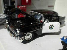 Buick century 1955 california highway police voiture 1:26 échelle 24 diecast model