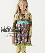 Girls MATILDA JANE Paint by Numbers Jane Exclusive Whistler Dress Size 6 c/w pin