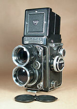 Rollei TELE-ROLLEIFLEX Zeiss Sonnar 135mm f/4 Portrait TLR 120 6x6 Film Camera!