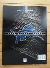 2005 Official Detroit Lions Yearbook NM Condition  Free Shipping!!