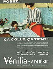 PUBLICITE ADVERTISING 044   1963   VENILIA-ADHESIF