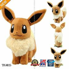 Japanese Cute Pokemon Eevee Plush Doll Anime Figure Cosplay 30cm 12inch TG025