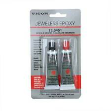 Vigor Jewelers Epoxy 2 Part Clear and Colorless 4 Minute 1 oz