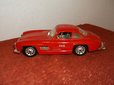 1954 MERCEDES-BENZ  300SL RED 2 DR COUPE SEEDLING  DIE CAST CAR 1:24 NO BOX
