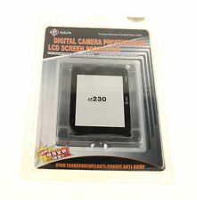 SONY ALPHA A230 DSLR CAMERA GGS LCD SCREEN PROTECTOR