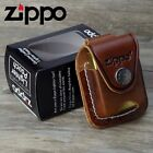 Zippo Genuine Leather Lighter Pouch/Case-Brown