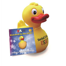 Sam Hatched in the USA CelebriDuck Rubber Duck New with Tags