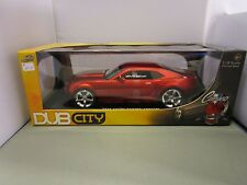 JADA 1/18 DUB CITY 40TH ANNIVERSARY CANDY RED 2006 CHEVY CAMARO CONCEPT NEW