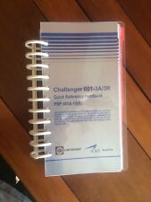 Challenger 601-3A/3R Quick Reference Hamdbook