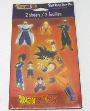 DragonBall Z DBZ Dragon Ball Stickety-Doo-Da 2000 STICKERS 2 Sheets NEW Sealed