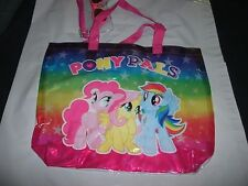 "My Little Pony Pony Pals  Clear Purse Beach Bag with bonus sunglasses 15""x12"""