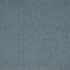 A852 Rain Blue Solid Durable Chenille Upholstery Fabric By The Yard