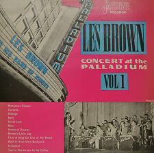 "LES BROWN - CONCERT AT THE PALLADIUM VOL.1  12""  LP (P424)"
