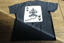 Johnny Rawls Autographed Ace of Spades Shirt M Blues Musician