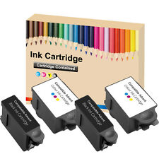 2 Full Set Ink Cartridges ABK10 & ACRL10 for Advent A10 AW10 AWP10 Printer 2