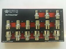 "Like Mac Tools ""Edge"" Jubilee Tools ""Nutmaster"" 15pc Shallow 1/2dr "" Socket Set"