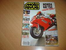 Moto revue N° 3013 Honda NR 750.Cagiva 900 ie GT.