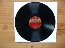 "10"" 78 REGAL ZONOPHONE MR 3314 ""Glow Worm Idyll"" Stephanie Black Dyke Mills Band"