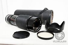 Olympus PEN OM Panasonic LUMIX Micro 4/3 DSLR fit VIVITAR 250mm 500mm ZOOM lens