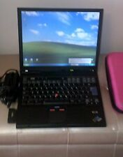 IBM LENOVO T43 LAPTOP/NOTEBOOK WITH WINDOWS XP & SERVICE PACK 3