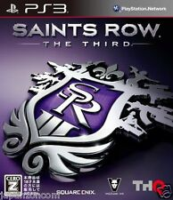 Used PS3 Saints Row: The Third SONY PLAYSTATION 3 JAPAN JAPANESE IMPORT