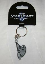 STARCRAFT II WINGS OF LIBERTY PROTOSS LOGO KEYCHAIN NEW