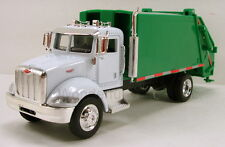 "NewRay Peterbilt Model 335 Garbage recycle 8"" truck 1:43 scale N138"