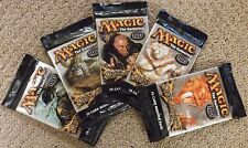MAGIC THE GATHERING ONSLAUGHT ENGLISH BOOSTER PACK LOT OF 5 FACTORY SEALED X5