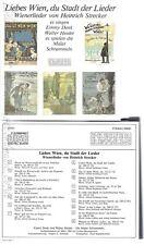 CD--LIEBES WIEN DU STADT DER LIEDER--EMMY DENK-WALTER HEIDER--SCHRAMMELN--