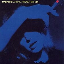"MARIANNE FAITHFULL ""BROKEN ENGLISH"" CD NEUWARE"