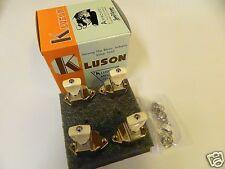 KLUSON FIREBIRD BANJO KBT-9004SLN/P 2 + 2 TUNERS W/ PLASTIC BUTTONS NICKEL