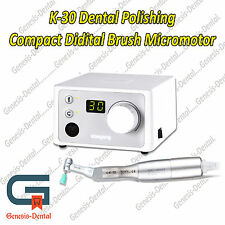 K-30 CUBE MICROMOTOR WITH POLISHING HANDPIECE 30,000 RPM. Great Product