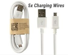 Qty 5x Micro USB charger cable 3ft Samsung galaxy HTC Motorola LG phone