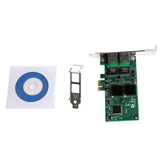 Dual Port PCI-E 1X Intel82540 Gigabit Server Adapter Network Card 10/100/1000M