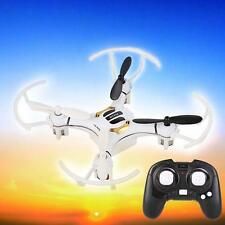 Mini 2.4G 4Ch 4Axis Nano Quad copter Drone RTF RC Quadcopter LED Airplane Kid AD