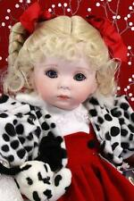Ruby - Porcelain Doll by Celia Dolls, Limited Edition