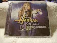 Best of Both Worlds Concert by Miley Cyrus/Hannah Montana CD Disney /NEW /SEALED